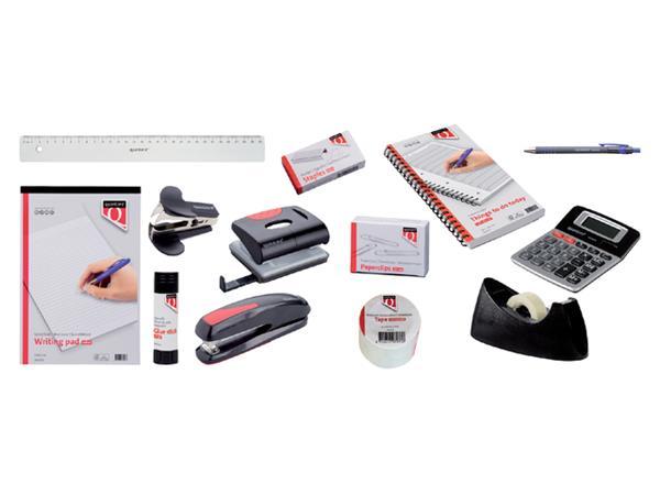 Huismerk doos Quantore starterset voor op bureau