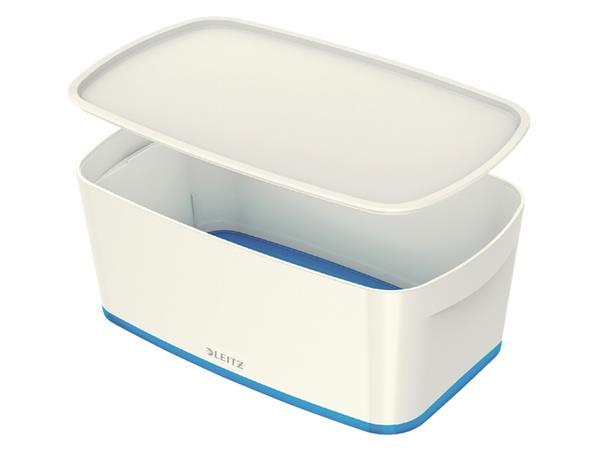 Opbergbox Leitz MyBox klein blauw/wit