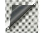APPARAATROL DESIGN ZILVER STIPPEN GRIJS 100MX30CM