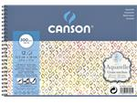 AQUARELBLOK CANSON XL 125X180MM 300GR 20V GROF SPIR