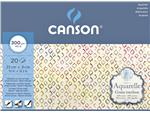 Aquarelblok Canson 23x31cm 20V 300gr grof gelijmd