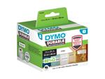 LABEL ETIKET DYMO DURABLE 19330 89MMX25MM WIT