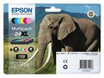 Inktcartridge Epson 24XL T2438 foto zwart + 6 kleuren HD
