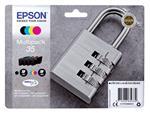 Inktcartridge Epson 35 T3586 zwart + 3 kleuren