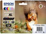 Inktcartridge Epson 378XL T3798 6 kleuren