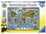 Puzzel Ravensburger Dieren over de wereld 300 stukjes