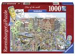 Puzzel Ravensburger Fleroux Amsterdam 1000 stukjes