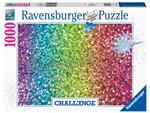 Puzzel Ravensburger Glitter challenge 1000 stukjes