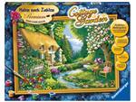 Schilderen op nummer Ravensburger Cottage Garden