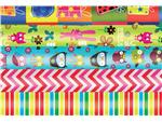 Inpakpapier Haza kids colours 200x70cm assorti