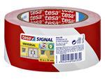 Waarschuwingstape Tesa 58134 rood/wit