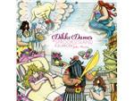 Kleurboek volwassenen Dikke Dames in sprookjesland