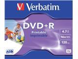 DVD+R Verbatim 4.7GB 16x printable jewelcase