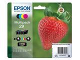 Inktcartridge Epson 29 T2986 zwart + 3 kleuren