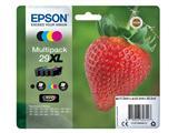 Inktcartridge Epson 29XL T2996 zwart + 3 kleuren HC