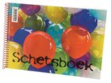 Schetsboek Papyrus ballon A4 120gr 20vel