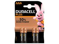 BATTERIJ DURACELL AAA PLUS POWER 50% ALKALINE