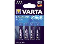 Batterij Varta Longlife Power 4xAAA