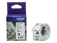 Brother etiketten voor kleurenlabelprinters