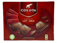 Chocolade Cote d'Or 10gr mignonnette melk 120 stuks