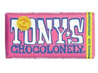TONY'S CHOCOLONELY WIT FRAMB KNETTERSUIKER 180GR