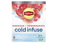 Cold infuse Lipton pomgran hibiscus