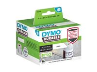 LABEL ETIKET DYMO DURABLE 19330 64MMX19MM WIT