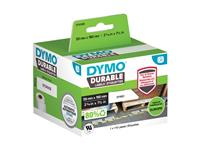 LABEL ETIKET DYMO DURABLE 19330 190MMX59MM WIT