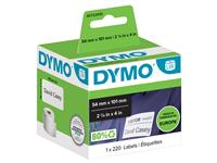 Etiket Dymo 99014 labelwriter 54x101mm badgelabel 220stuks
