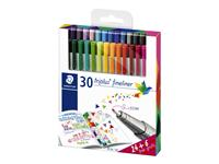 FINELINER STAEDTLER TRIPLUS 334 0.3MM 24+6 GRATIS ASS