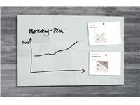 Glasbord Sigel magnetisch 1000x650x15mm wit