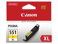 INKCARTRIDGE CANON CLI-551XL HC GEEL