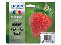 INKCARTRIDGE EPSON 29 T2986 ZWART + 3 KLEUREN