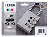 INKCARTRIDGE EPSON 35XL T3596 ZWART + 3 KLEUREN HC