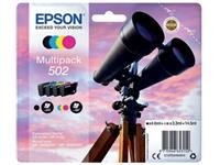 INKCARTRIDGE EPSON 502 T02V6 ZWART + 3 KLEUREN