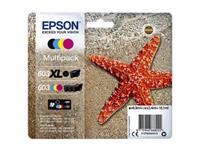 INKCARTRIDGE EPSON 603 T03A9 ZWART + 3 KLEUREN