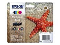 INKCARTRIDGE EPSON 603 T03U6 ZWART + 3 KLEUREN