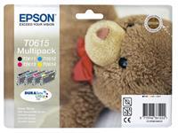 INKCARTRIDGE EPSON T061540 ZWART 3 KLEUREN