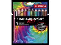 Kleurpotloden STABILO aquacolor 1624-1-20 etui à 24 stuks