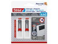Klevende spijker Tesa voor kleine apparaten op behang en pleisterwerk 500gr