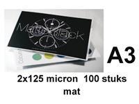 Lamineerhoes GBC A3 2x125micron mat 100stuks