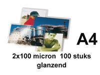 LAMINEERHOES GBC A4 2X100MICRON