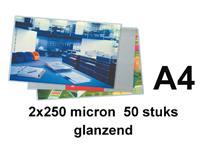 Lamineerhoes GBC A4 2x250micron 50stuks