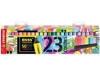Markeerstift STABILO Boss Original 50-jarige jubileum deskset à 23 kleuren