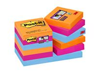 Memoblok 3M Post-it 622 Super Sticky 47.6x47.6mm Bangkok