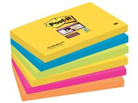 Memoblok 3M Post-it 655-SSRO Super Sticky 76x127mm Rio