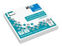 Memoblok Info Notes antimicrobiëel 75x75mm wit