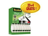 PLAKBAND 3M SCOTCH 810 19MMX33M MAGIC ONZICHTBAAR