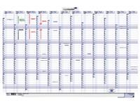 Persoonlijke planner 2021 Legamaster 60x90cm oprolbaar