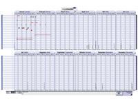 Projectplanner 2021 Legamaster 60x90cm oprolbaar